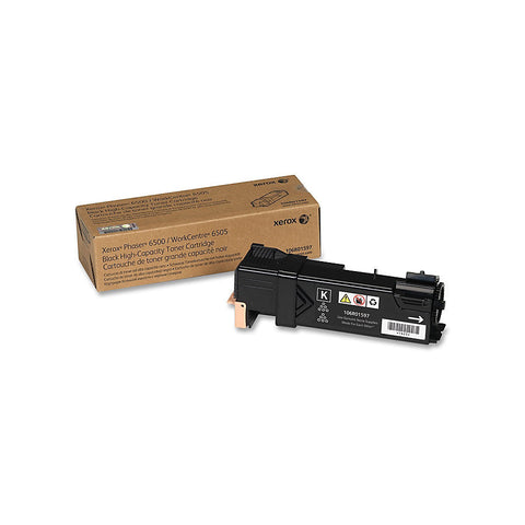Xerox Phaser 6500/WorkCentre 6505, High Capacity Black Toner Cartridge