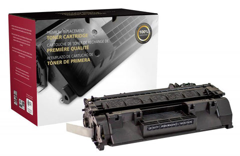 Clover Technologies Group, LLC Remanufactured Extended Yield Toner Cartridge (Alternative for HP CE505A 05A) (5000 Yield)