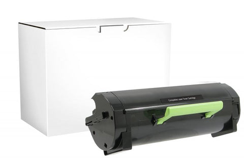 Clover Technologies Group, LLC Remanufactured High Yield Toner Cartridge for Lexmark MS310/MS410/MS510/MS610/MX310/MX410/MX510/MX610