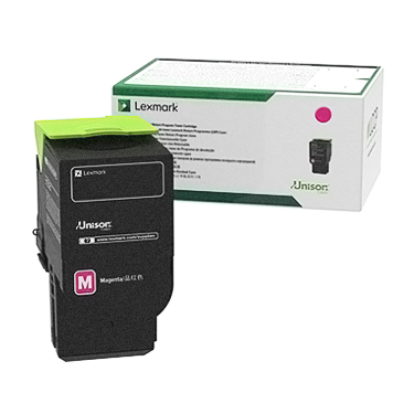 Lexmark C241XM0 Magenta Extra High Yield Return Program Toner Cartridge