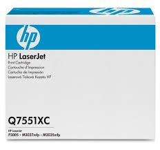 HP 51X (Q7551XC) LaserJet M3027 MFP M3035 MFP P3005 High Yield Original LaserJet Contract Toner Cartridge (13000 Yield)