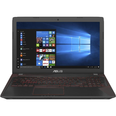 "ASUS Computer International FX53VD-Q52-CB 15.6"" Intel Core i5 7th Gen 7300HQ (2.50 GHz) NVIDIA GeForce GTX 1050 12 GB Memory 1 TB HDD Windows 10 Home 64-Bit Bilingual Gaming Laptop"