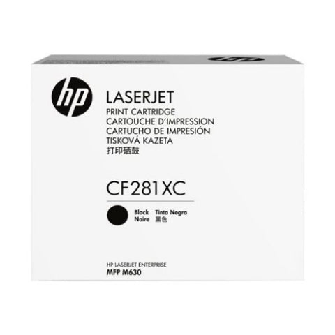 HP CF281XC Monochrome 25,000 Yield Contracted Toner