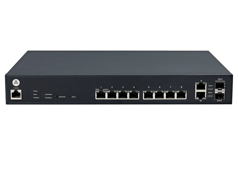 Open Mesh  S8 8-Port PoE+ Cloud-Managed Switch