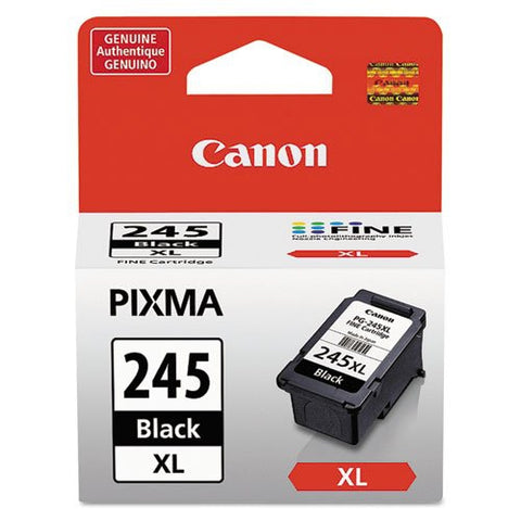 Canon, Inc (PG-245XL) High Yield Black Ink Cartridge (300 Yield)
