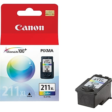Canon (CL-211XL) PIXMA MP240 MP250 MP270 MP480 MP490 MX330 MX340 MX350 MX410 MX420 Extra Large Capacity Color Ink Cartridge