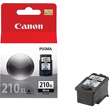 Canon (PG-210XL) PIXMA MP240 MP250 MP270 MP480 MP490 MX340 MX330 MX350 MX410 MX420 Extra Large Capacity Black Ink Cartridge (401 Yield)
