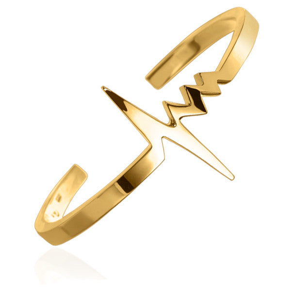 AMOUR HEARTBEAT SOLID BANGLE