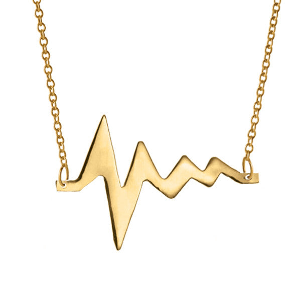 AMOUR MEDIUM HEARTBEAT NECKLACE
