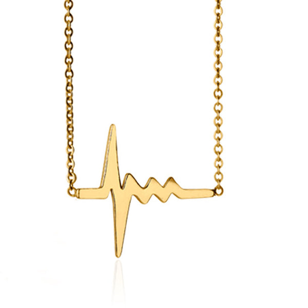 AMOUR TINY HEARTBEAT NECKLACE rts