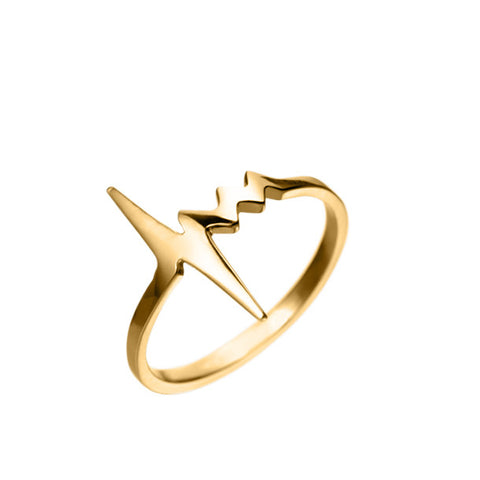 AMOUR TINY HEARTBEAT RING