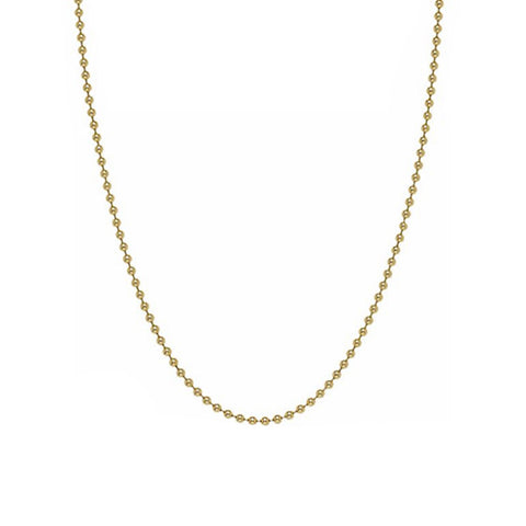 BOHEME GOLD BALL LINK CHAIN rts
