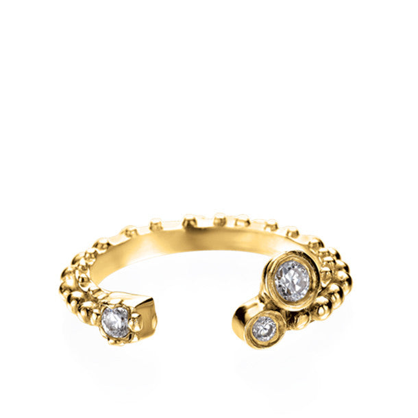 BOHEME CROWN TROIS DIAMOND RING