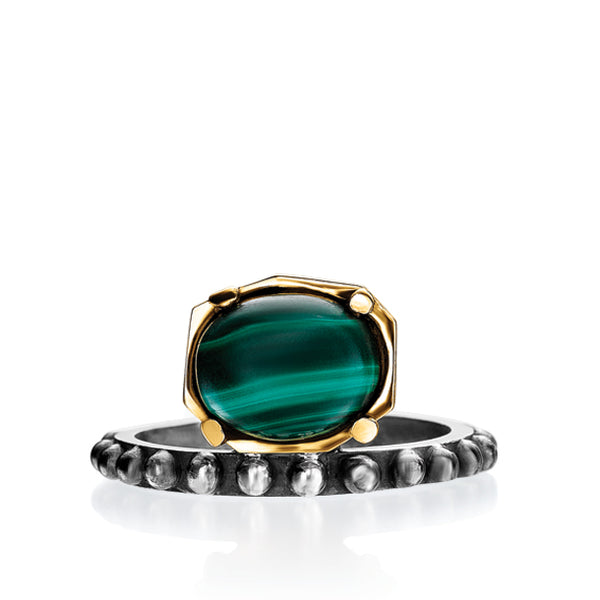 BOHEME DANA MALACHITE RING