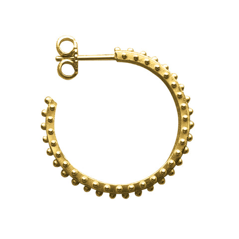 BOHEME HOOP MEDIUM EARRING