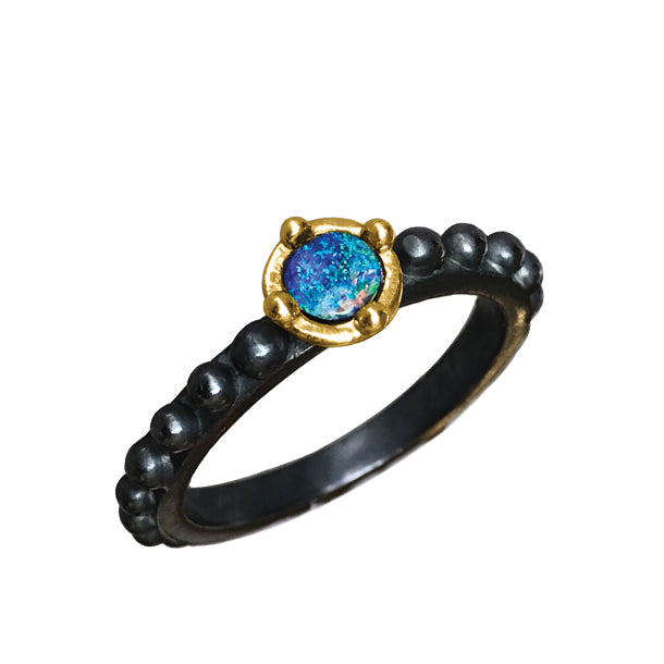 BOHEME MINI HYPNOSE OPAL RING