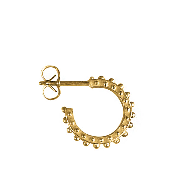BOHEME MINI HOOP EARRING