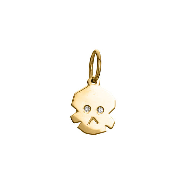 FACETTE MINI SKULL CHARM