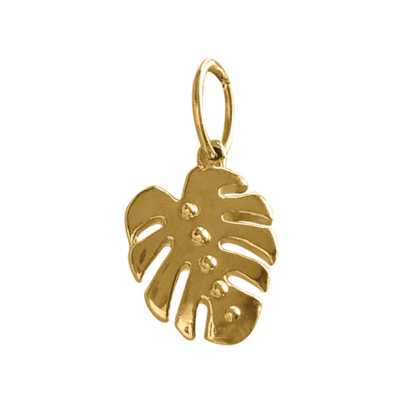 BOHEME MONSTERA LEAF CHARM
