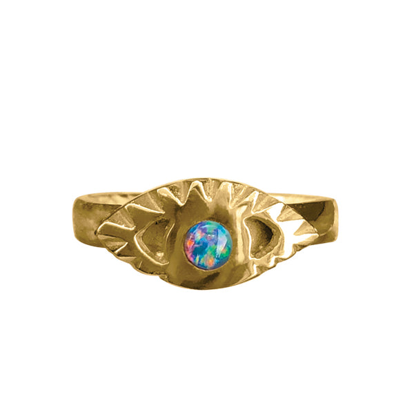 BOHEME OPAL THIRD EYE RING