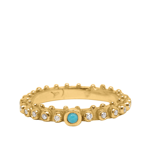 BOHEME CHLOE TURQUOISE DIAMOND ETERNITY