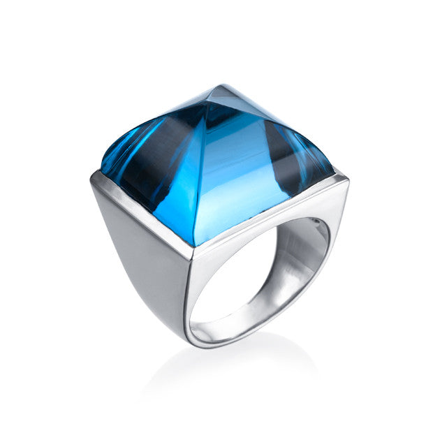 Classics Topaz Pyramid Bague - Final sale