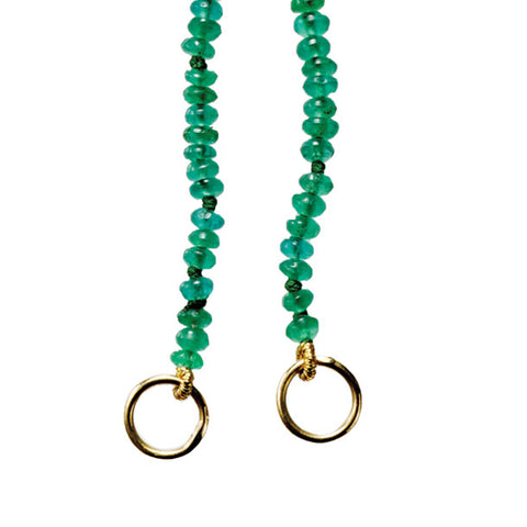 BOHEME EMERALD OPEN CHAIN