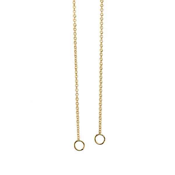BOHEME GOLD CABLE LINK CHARM OPEN CHAIN