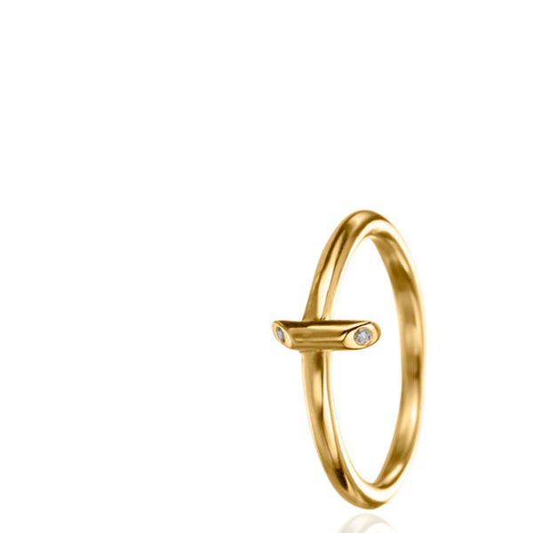 BATON SMALL DIAMOND RING