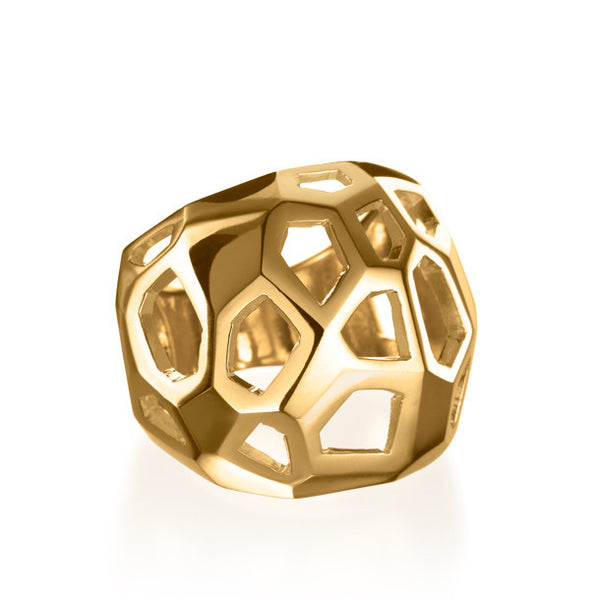 FACETTE CAGE RING