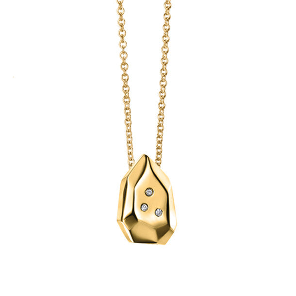 FACETTE MINI BRIO DIAMOND NECKLACE