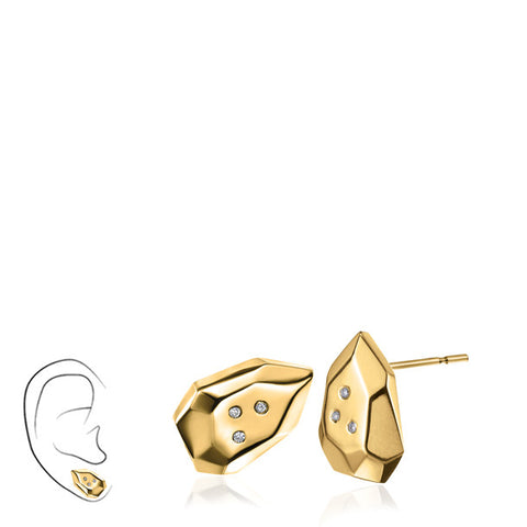 FACETTE MINI BRIO DIAMOND STUD