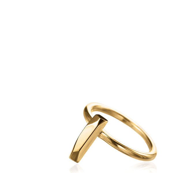 FACETTE MINI BAGUETTE RING
