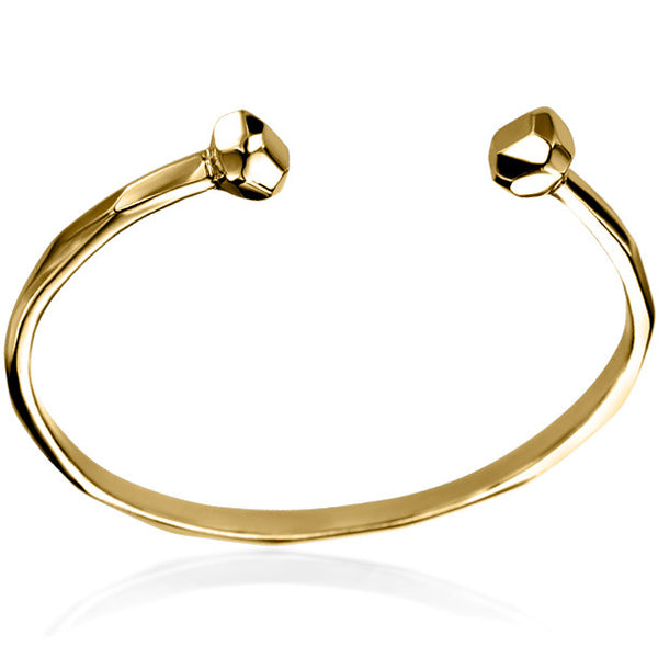 FACETTE GEM OPEN BANGLE