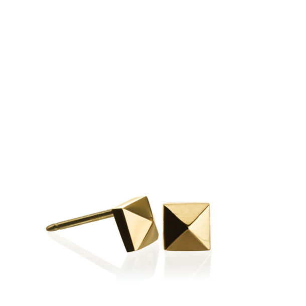 FACETTE MINI PYRAMID STUD