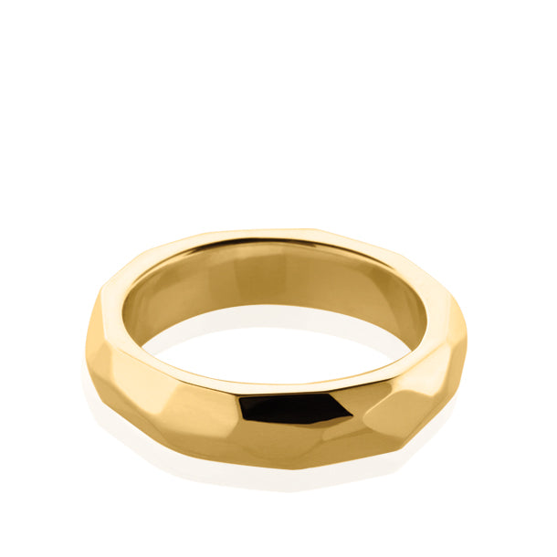 FACETTE STACK RING