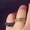 BOHEME END STACK RING Oxi