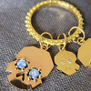 Pre Order: NEW BOHEME CLICKER CHARM LARGE RING