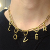 BOHEME LOVER CHUNKY LINK GOLD CHAIN