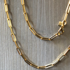 BOHEME BESTIE MEDIUM LINK GOLD CHAIN rts