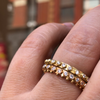 BOHEME HALF-ETERNITY DIAMOND RING