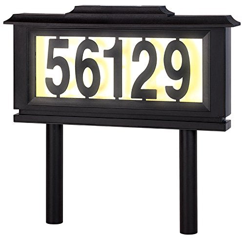 Solar Address Sign - UltimateDeals.net