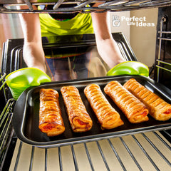 Non Stick Oven Spill Guard Oven Liner Mat Oven Spills - Re-sizable