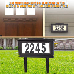 house numbers sign - UltimateDeals.net