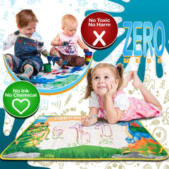 Aqua Magic Doodle Mat for Kids - Fun Easy to Use No Mess to Clean Up