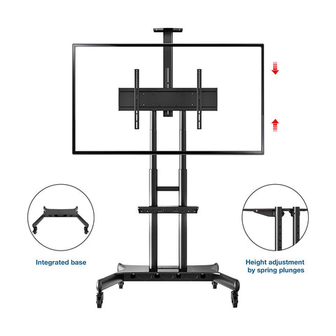 North Bayou CA70 Multi-functional Mobile Stand for TV Panel 50