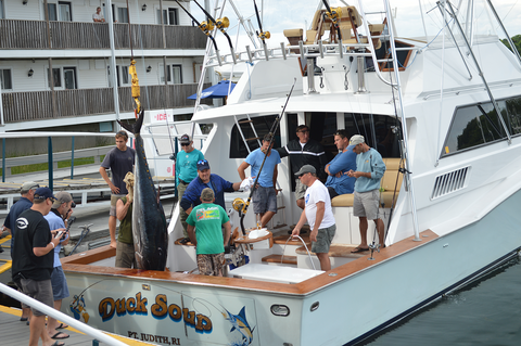 Duck Soup wins 2015 Bluefin Blowout Tournament in Gloucester Massachusetts
