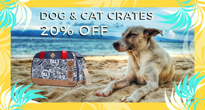 20% OFF Dog Crates & Carriers