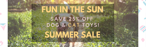 Save 25% On Dog & Cat Toys