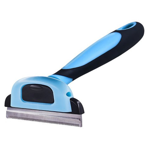 dog deshedding brush